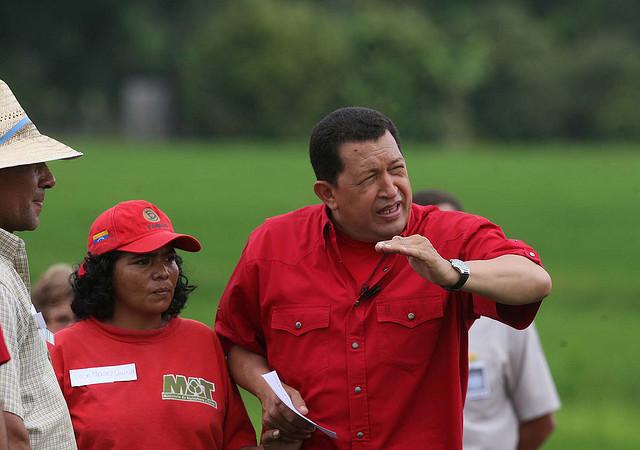 HUGO CHAVEZ EN BARINAS