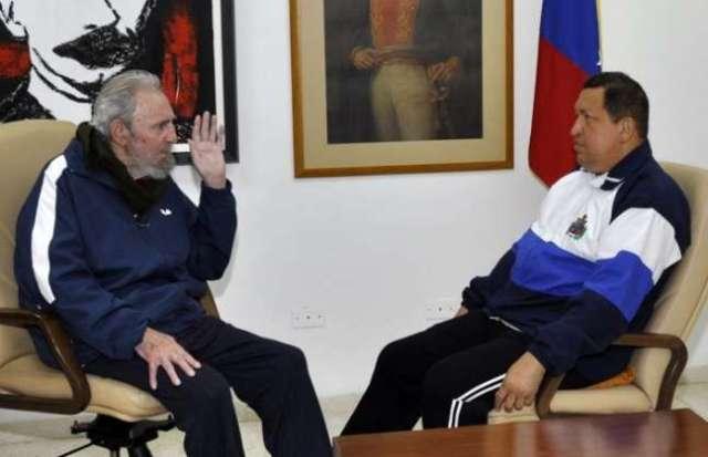 Fidel Castro - Hugo Chávez