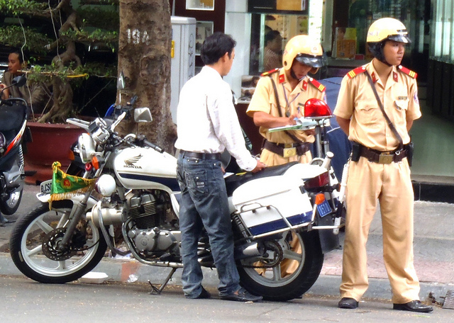 ho chi minh city - traffic police