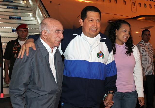 Hugo Chávez in Kuba