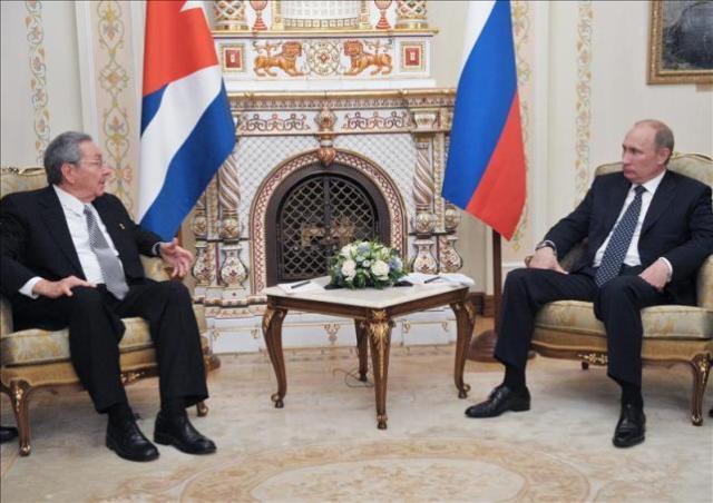 Raúl Castro - Vladimir Putin