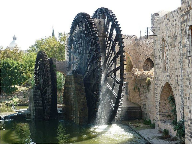 The Giant Norias of Hama – Magnificent Waterwheels of the Past ...