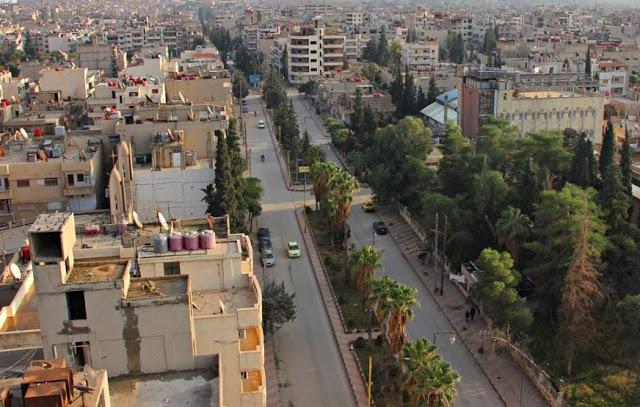 The city of Qamishli مدينة القامشلي